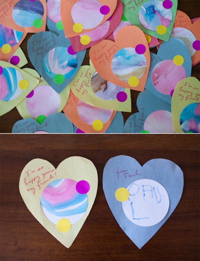 Preschool valentines cards - Permanent Riot