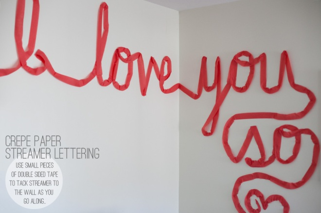 Valentine's day decor - Permanent Riot
