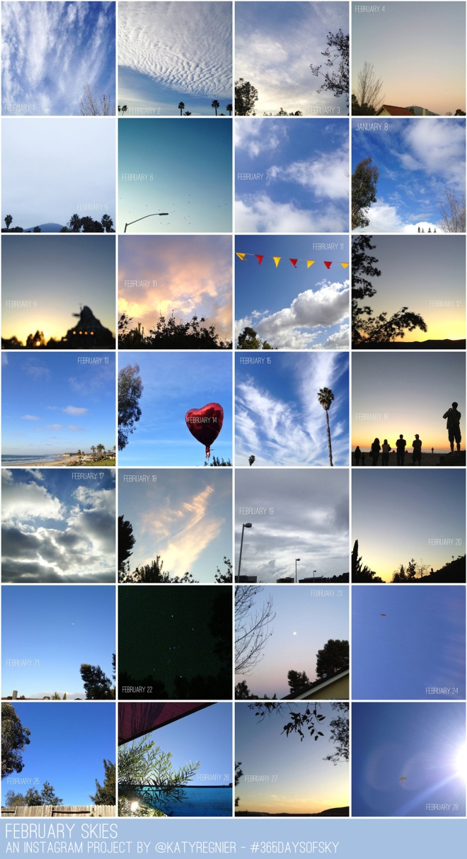 #365daysofsky - an instagram project 365 by Katy Regnier photography