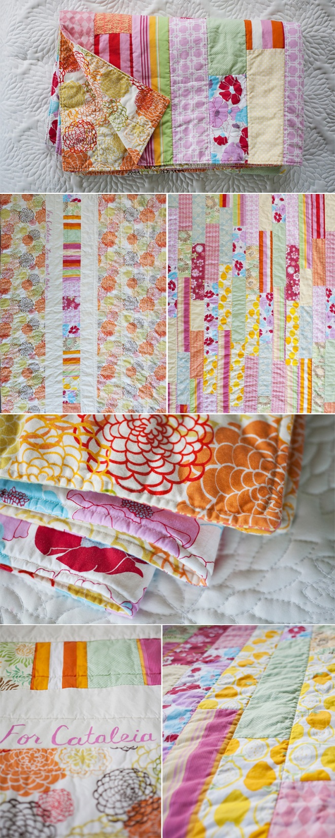 A quilt for Cataleia - quilting projects on Permanent Riot