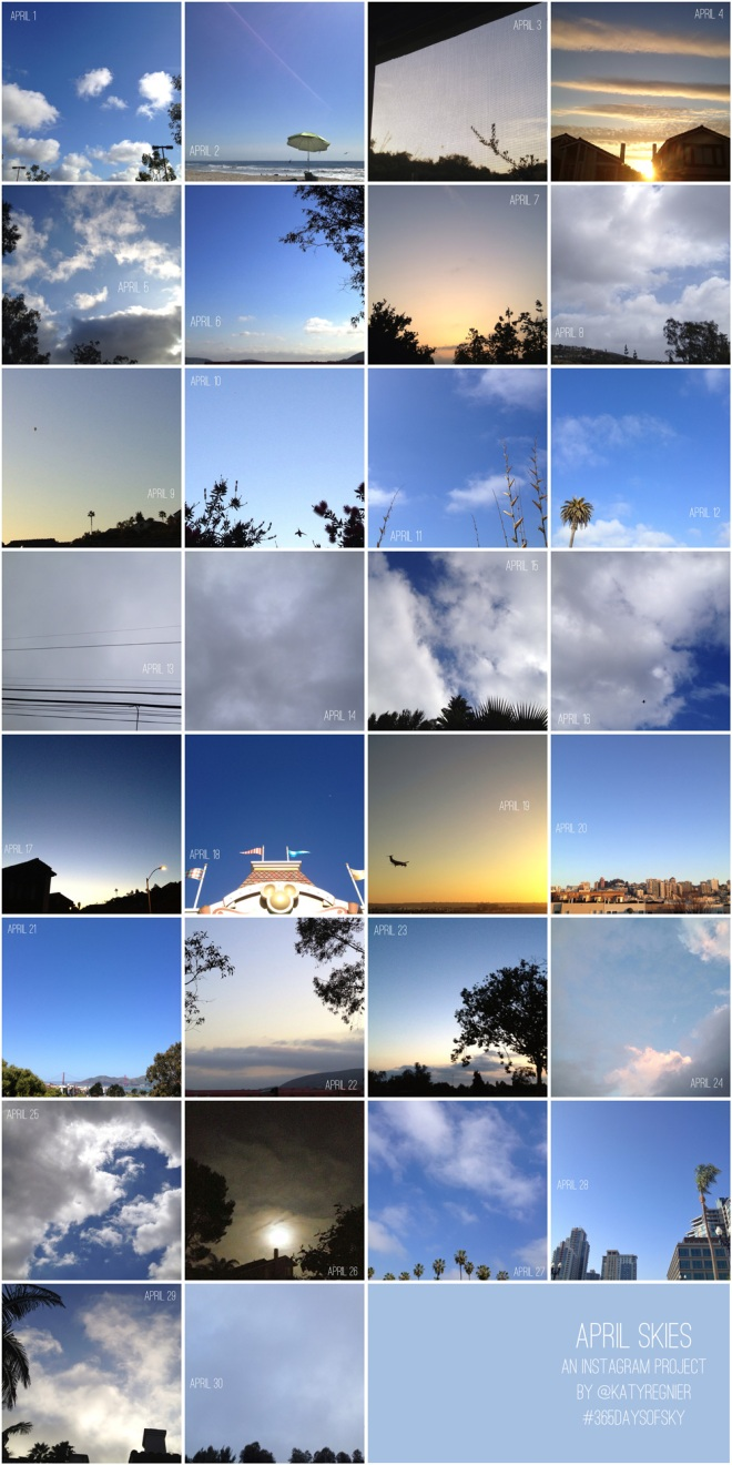 365daysofsky - an instagram project 365 by Katy Regnier on Permanent Riot