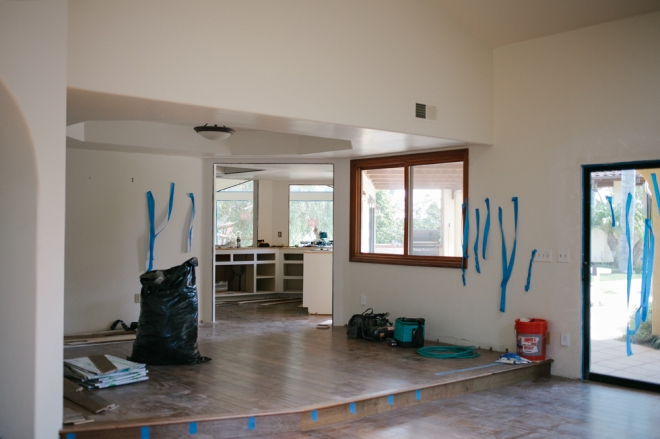Home renovation progress - Permanent Riot