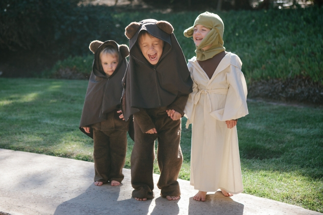 Homemade Star Wars halloween costumes - Permanent Riot blog