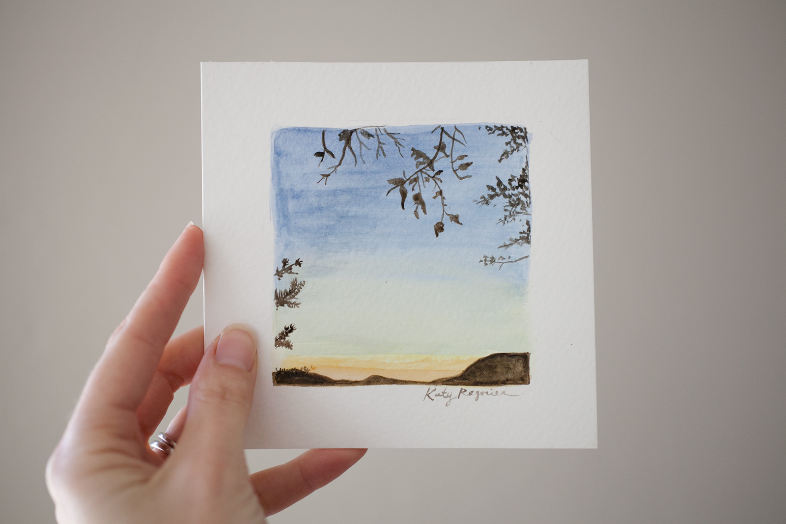 image gallery small watercolor