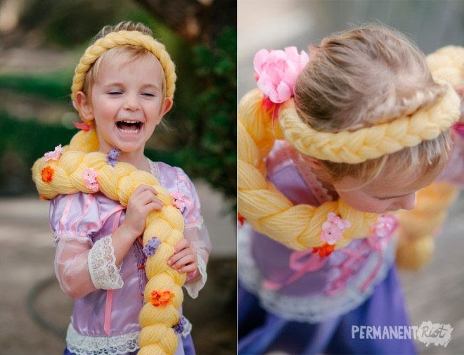 Childrens Rapunzel dress halloween costume