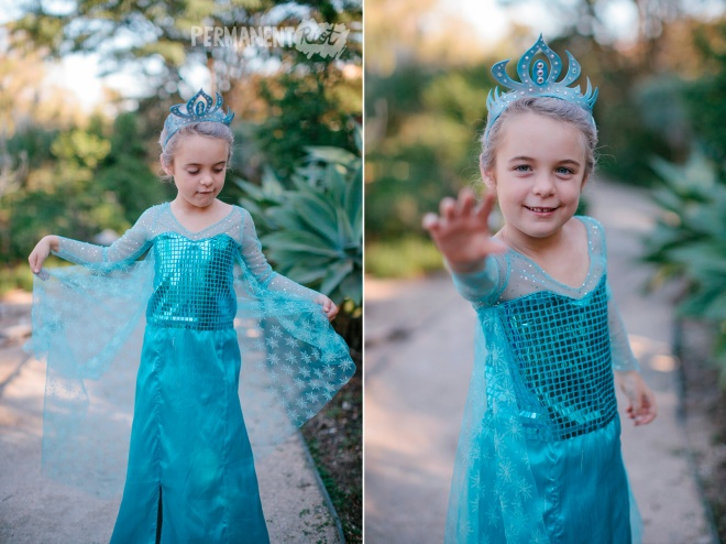 Elsa frozen childrens halloween costume