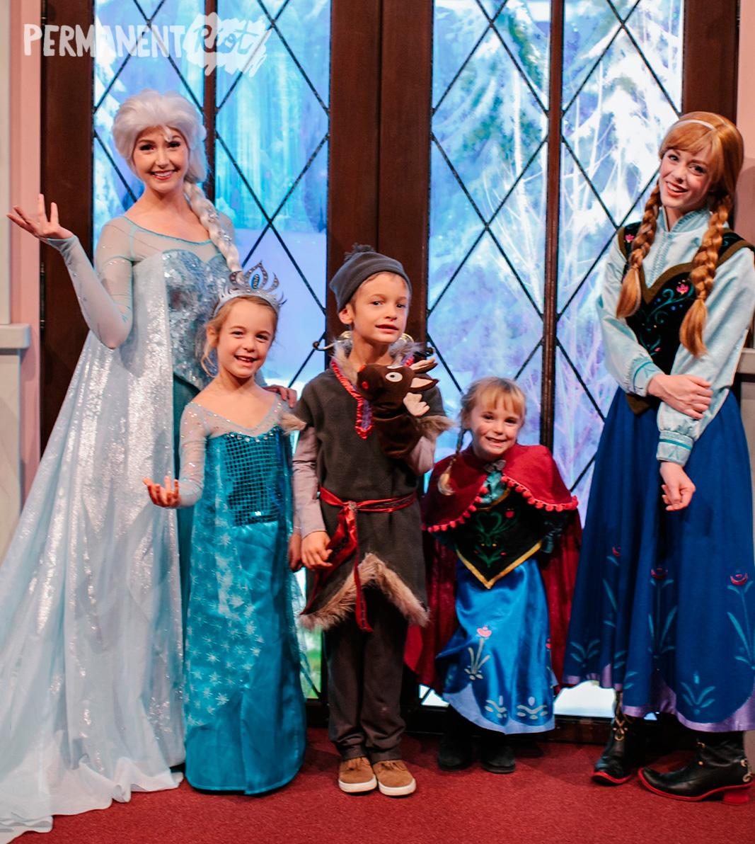 frozen family halloween costume  sc 1 st  Permanent Riot & Frozen family halloween costumes u2013 Anna Elsa u0026 Kristoff u2013 Permanent ...