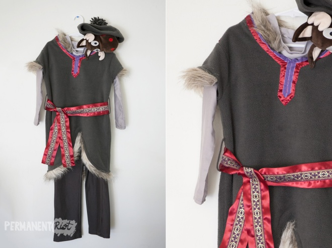 Kristoff Frozen childrens halloween costume